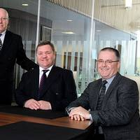 ACE Winches board of management from left:  - Valerie Cheyne - Chief Compliance Officer, Sam Morrison - Chief Financial Officer,  Alfie Cheyne - Chief Executive Officer, Graham Thomson - Chief Operations Officer. (Photo: ACE Winches)
