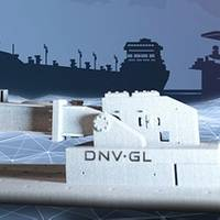 Additive manufacturing is a term that covers industrial processes that create three dimensional objects by adding layers of material. Image: DNV GL
