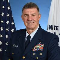 Admiral Karl L. Schultz, the 26th Commandant of the United States Coast Guard.