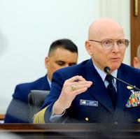 Admiral Papp Testifies: Photo USCG