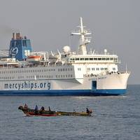 'Africa Mercy': Photo credit Mercy Ships