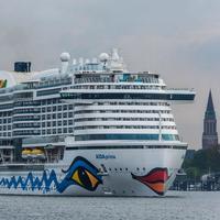 AIDAprima in Kiel / Foto: Stephen Gergs