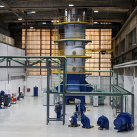 Alfa Laval Gas Combustion Unit  in the Alfa Laval Test & Training Center (Photo: Alfa Laval)
