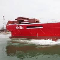 Hallin Marine's Compact Semi-Submersible, CSS Derwent
