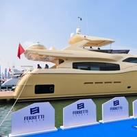 Altura 840: Photo credit: Ferretti Yachts