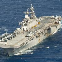 Amphibious assault ship USS Wasp (LHD 1) (File photo: Taylor King / U.S. Navy)