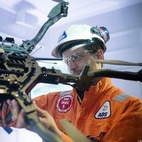 An ABS technician with a drone. Source: ABS