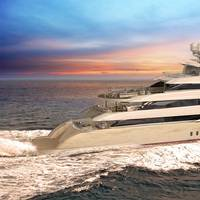 An artist's rendering of Golden Yacht Ltd's O'Pari3 (Photo courtesy of SAM Electronics)