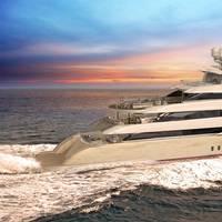 An artist's rendering of Golden Yacht Ltd's O'Pari3 (Photo courtesy of SAM Electronics)