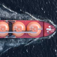 An LNG Tanker Illustration - Credit: alexlmx/AdobeStock
