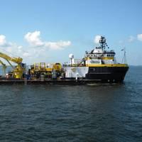 An Oceaneering DSV: Photo courtesy of Oceaneering