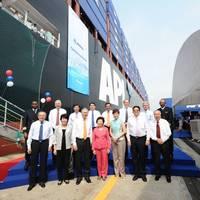 APL Temasek Naming Ceremony: Photo credit NOL