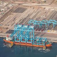 APM Terminals Lazaro Cardenas Mexico receives new cranes