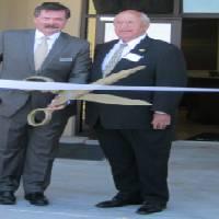 aptain Stephen Conway and Mayor Wayne Riddle