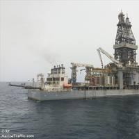 A Valaris drillship - Credit:RF/MarineTraffic.com