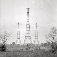 "Arlington, Va. ""Radio"" Masts for the Navy's wireless station (Harris & Ewing glass negative)"