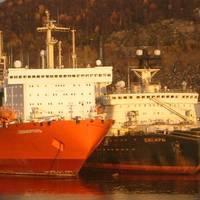Nuclear-powered Container Ship 'Sevmorput': Photo credit Wiki Ru. CCL