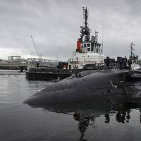 Artful arriving at HMNB Clyde (Photo: U.K. Ministry of Defense)