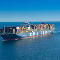 Artist JR will turn CMA CGM Magellan into a giant piece of art (Photo courtesy of CMA CGM)