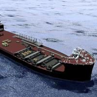 Artist rendering of Mobile Landing Platform vessel (Photo: General Dynamics NASSCO)