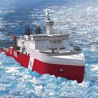 Artist rendering of the Halter Marine Polar Security Cutter design (image courtesy of Halter Marine / Technology Associates, Inc.