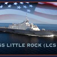 Artist rendering of the littoral combat ship USS Little Rock (LCS 9). (U.S. Navy photo illustration by Jay M. Chu)