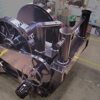 """As the new year begins, Markey Machinery is preparing a new TES-40-75HP electric towing winch for shipment that will be installed on Harley Marine Services new Z-drive ship assist tractor tug """"M/V ROBERT FRANCO."""""""