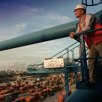 Aspect of port: Image courtesy of Port of New Orleans