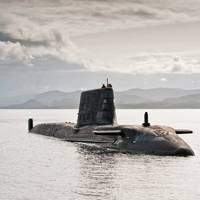 Astute-class submarine: Photo courtesy of Northrop Grumman
