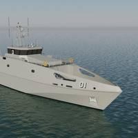 Austal Pacific Patrol Boat Replacement Design (Image: Austal)