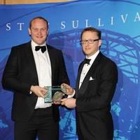 Award Presentation: Photo credit Frost & Sullivan