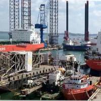 Batam Shipyard: Photo courtesy of ASL