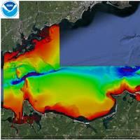 Bathymetric Survey Long Island Sound: Image courtesy NOAA