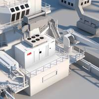 ABB's Containerized Energy Storage System integrates battery power in a standard 20-foot container (Image: ABB)
