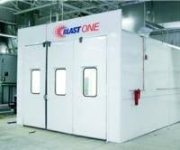Blasting Batch-Booth: Photo courtesy of Blast One