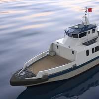 BMT-designed Fast Crew Boat: Photo credit BMT Nigel Gee