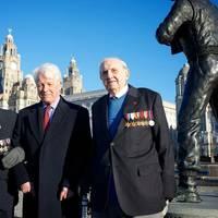 BOA Veteran Jim Rainsford, Vice Admiral Mike Gretton, and Campaign Chairman Veteran Graeme Cubbin (Photo: Polaris Publishing)