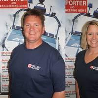Bob Beck Jr. (left), and Renée St. Lawrence