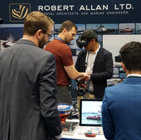 Booth VR demonstration at SNAME 2019 (Photo: Robert Allan Ltd.)