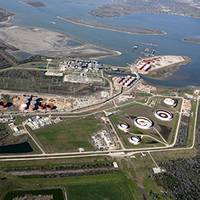 BOSTCO Terminal (photo courtesy of Kinder Morgan Energy Partners)