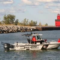 Boston Whaler 27' Vigilant patrol boat: Photo credit Brunswick Commercial & Government Products