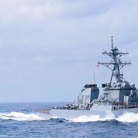 Gibbs & Cox-designed DDG-51 Arleigh Burke-class destroyer at sea (Photo: Gibbs & Cox)