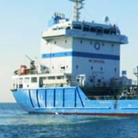 Bunker barge: Image courtesy of Aegean Marine