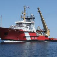 Canadian Coast Guard icebreaking vessel Samuel Risley (File photo courtesy of the Canadian Coast Guard)