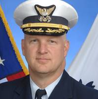 Captain Anthony Lloyd, Commanding Officer, U.S. Coast Guard National Maritime Center.