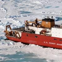 Caption: The U.S. Coast Guard Cutter Healy (Photo: U.S. Coast Guard)