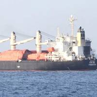 Cargo ship MV OS-35 was recently attacked by suspected armed pirates in the Gulf of Aden (Photo: EUNAVFOR)