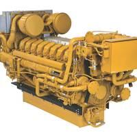 Cat C175 engine: Image Caterpillar Marine