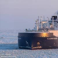 Ice-Breaking LNG Carrier Vladimir Rusanov - Credit: D. Lobusov - MarineTraffic
