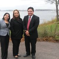 Cecilia Hernandez, Magdalena Carrera and Victor Almengor from Panama Maritime Authority, during the audit of Seagull Maritime's training center in Horten, Norway. (Photo courtesy of Seagull)